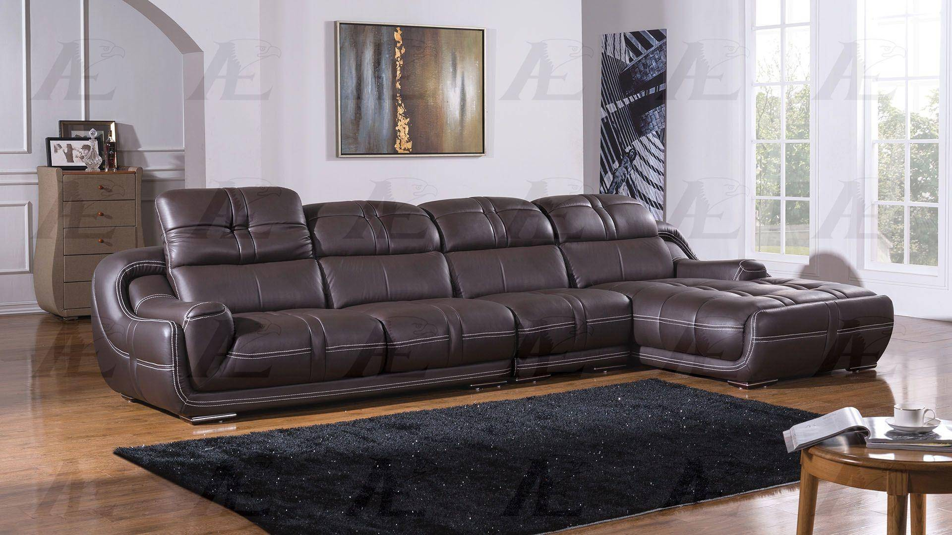 Preferred Hannah Left Sectional Sofas With Regard To Buy American Eagle Ek L201 Db Sectional Sofa 3 Pcs Left (View 1 of 20)