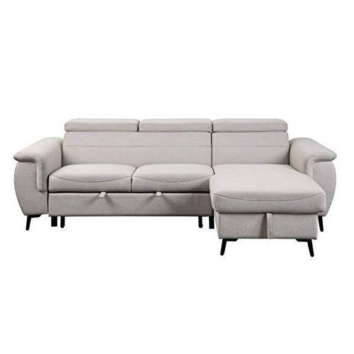 Preferred Lexicon Cadence Microfiber Reversible Sectional Sofa In Inside Harmon Roll Arm Sectional Sofas (View 13 of 20)