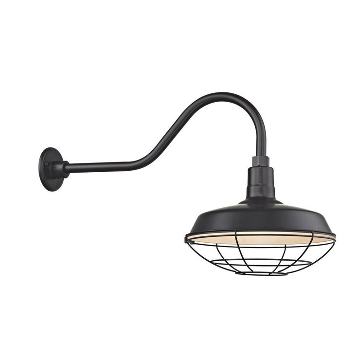 Preferred Rickey Black Outdoor Barn Lights For Recesso Lightingdolan Designs Barn Light Outdoor Wall (View 17 of 20)
