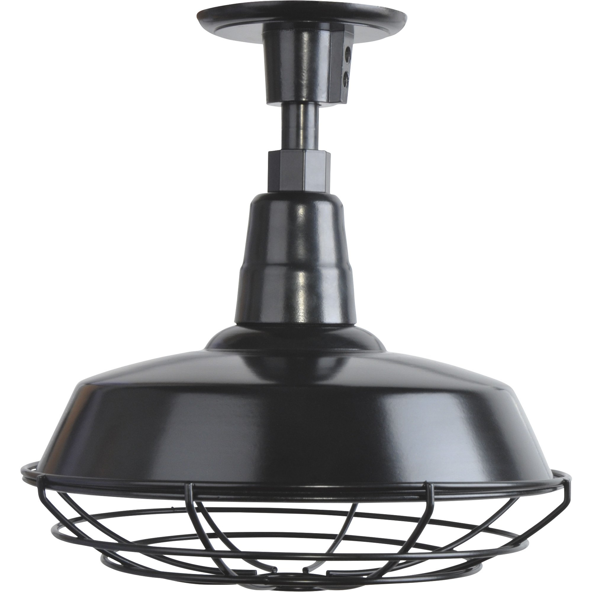 Preferred Rickey Black Outdoor Barn Lights Pertaining To Strongway Multi Mount Outdoor/indoor Barn Light — 12in (View 11 of 20)