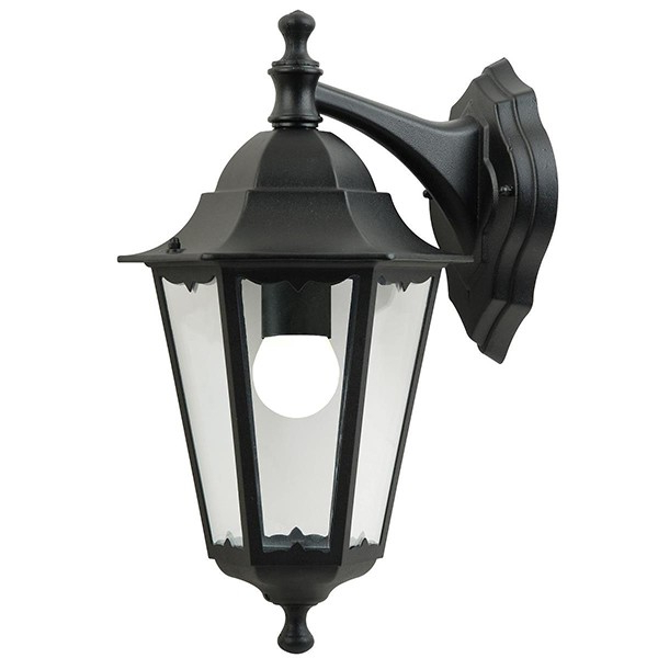 Preferred Socorro Black Outdoor Wall Lanterns For Nordlux Cardiff Hanging Black Outdoor Wall Light ( (View 17 of 20)