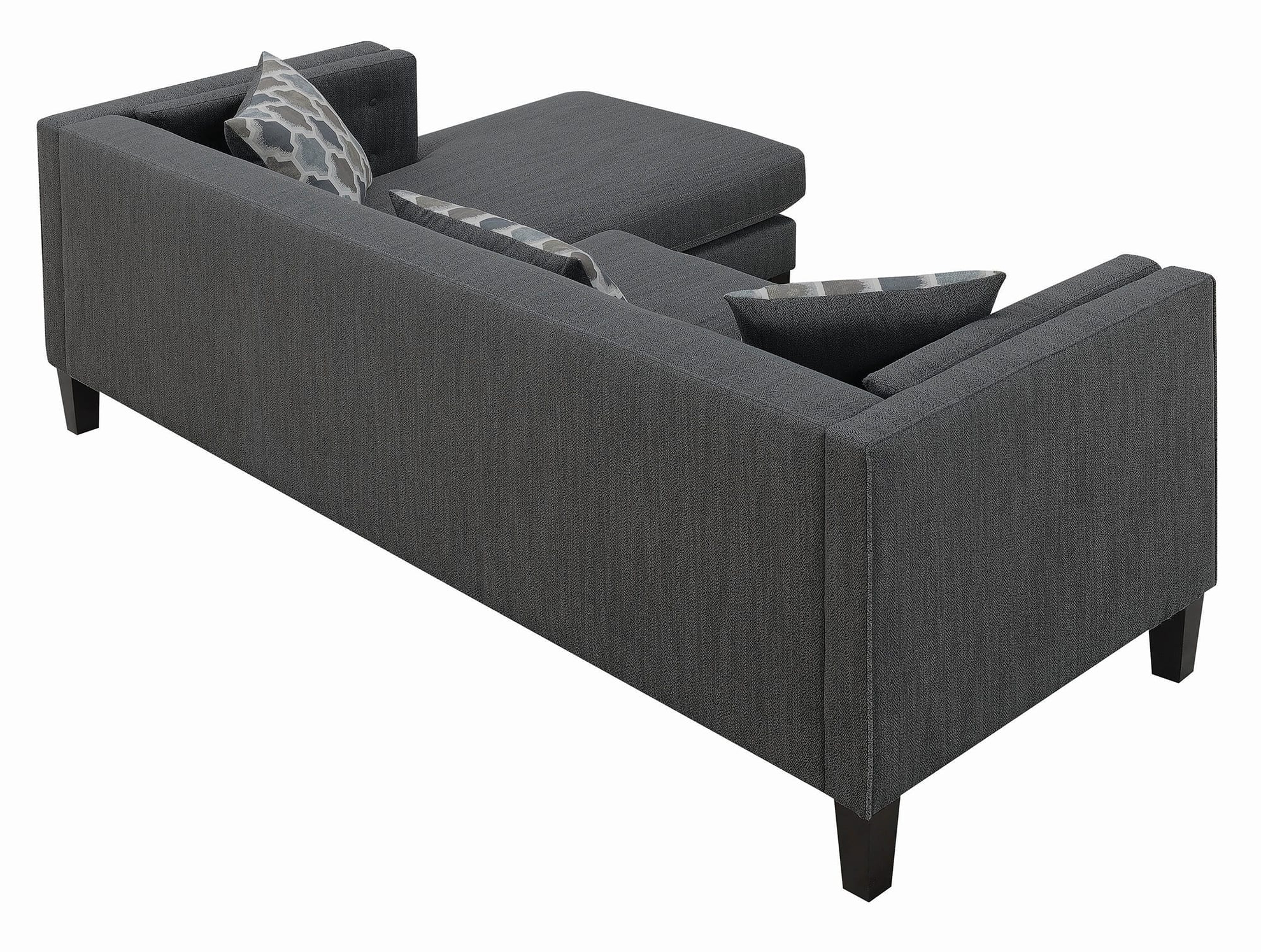 Quality Regarding Latest Brayson Chaise Sectional Sofas Dusty Blue (View 10 of 20)