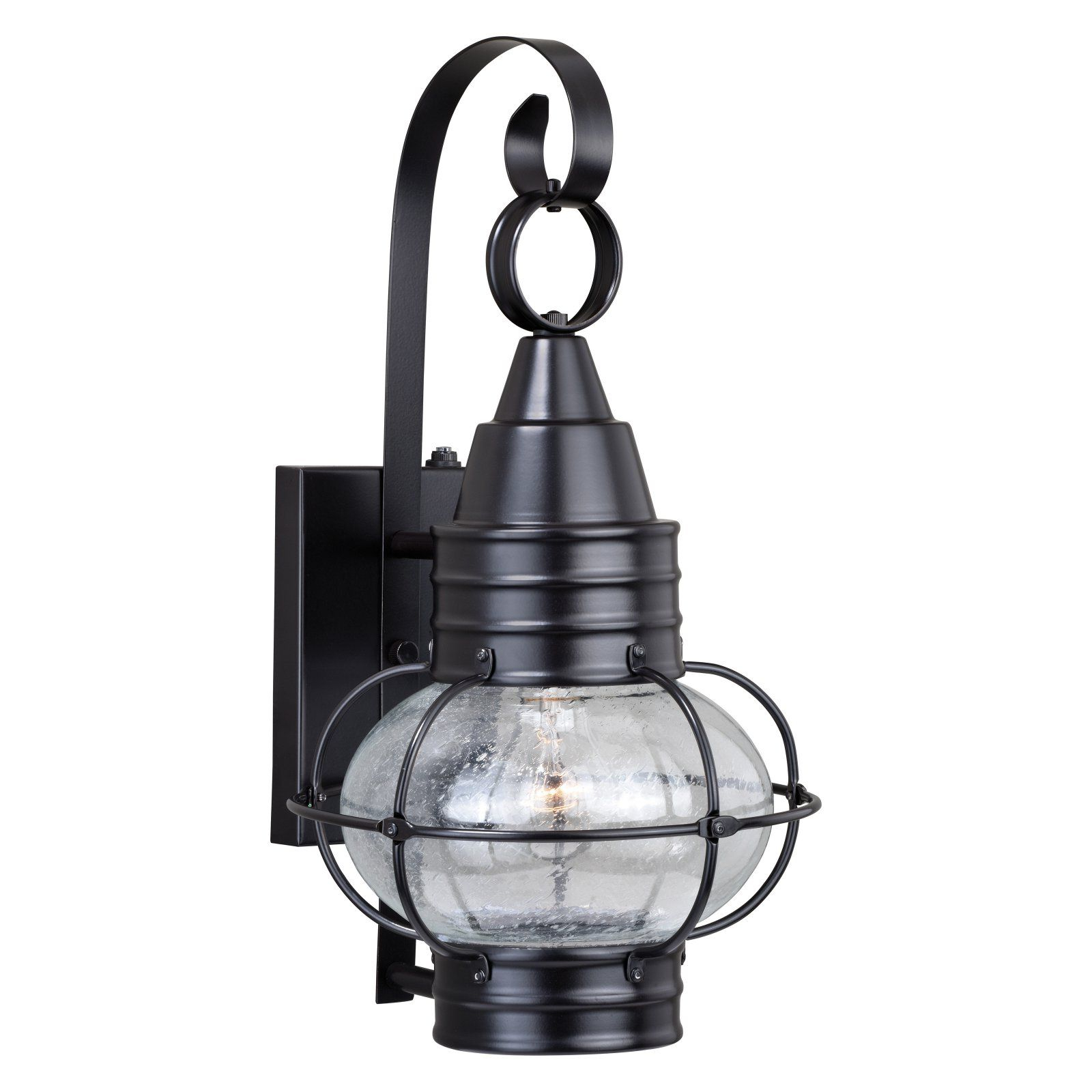 Ranbir Oil Burnished Bronze Outdoor Barn Lights With Dusk To Dawn With Regard To Newest Vaxcel Chatham T028 Outdoor Wall Light, Size: 13 In (View 16 of 20)