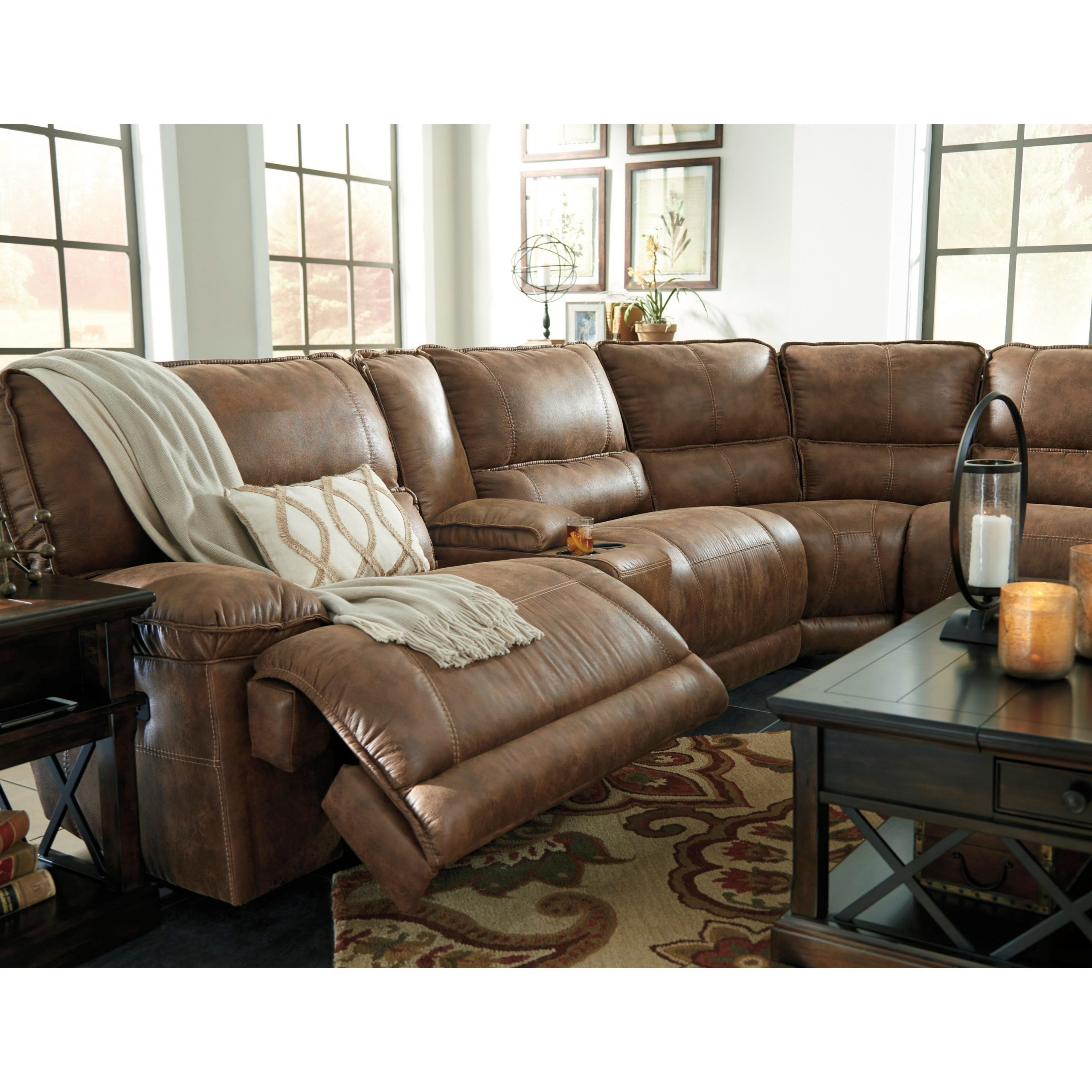 Raven Power Reclining Sofas For Most Up To Date Signature Designashley Grattis 6 Piece Power Reclining (View 1 of 20)