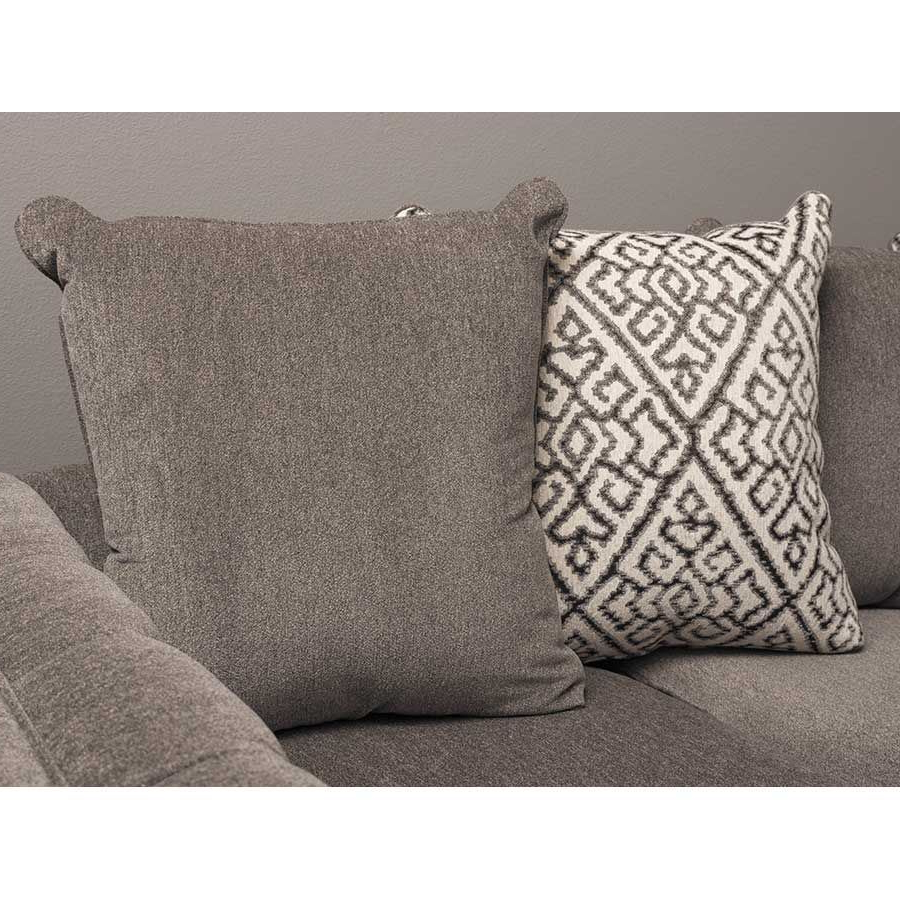 Recent 3pc Polyfiber Sectional Sofas With Nail Head Trim Blue/gray Within Juliana 3 Piece Sectional With Raf Chaise – Indy Best (View 8 of 20)