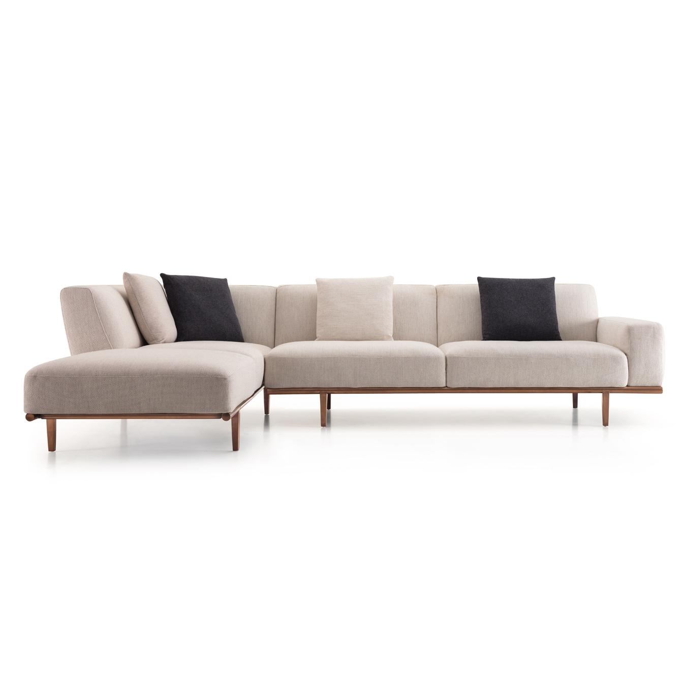 Recent Beige Sofas Throughout Trento Corner Sofa Beige – Casa Lusso Furniture Uae (View 2 of 20)