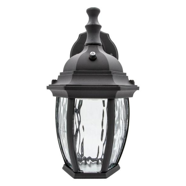 Recent Black Dusk To Dawn Outdoor Wall Light – Outdoor Lighting Ideas Throughout Edenfield Water Glass Outdoor Wall Lanterns With Dusk To Dawn (View 11 of 20)