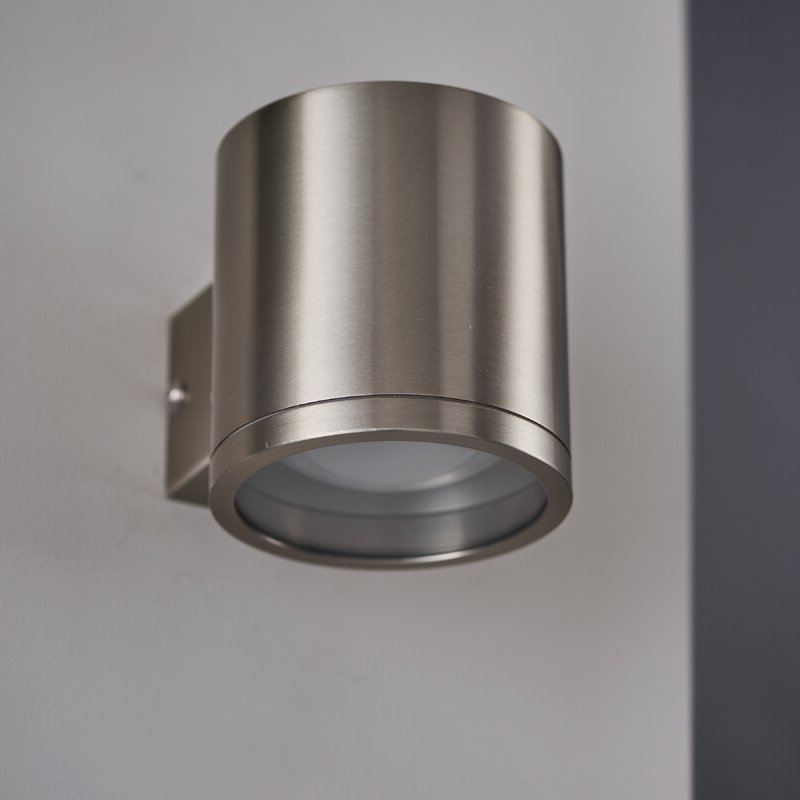 Recent Chazz Integrated Led Outdoor Armed Sconces Inside Dakota Fields Madeline Chrome 11cm H Integrated Led (View 17 of 20)