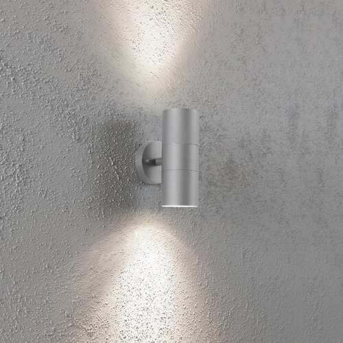 Recent Konstsmide Modena 2 – Bulb Glass Outdoor Armed Sconce Intended For Edith 2 Bulb Outdoor Armed Sconces (View 7 of 20)