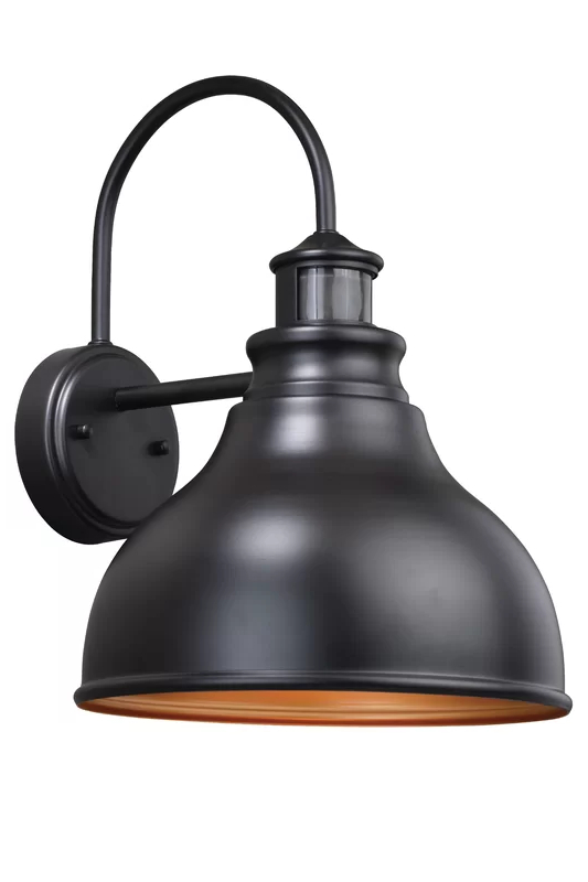 Recent Lavardin Oil Burnished Bronze 1 – Bulb Outdoor Barn Light Throughout Ranbir Oil Burnished Bronze Outdoor Wall Lanterns With Dusk To Dawn (View 6 of 20)