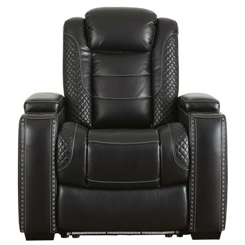 Recliner, Power Recliners In Magnus Brown Power Reclining Sofas (View 6 of 20)