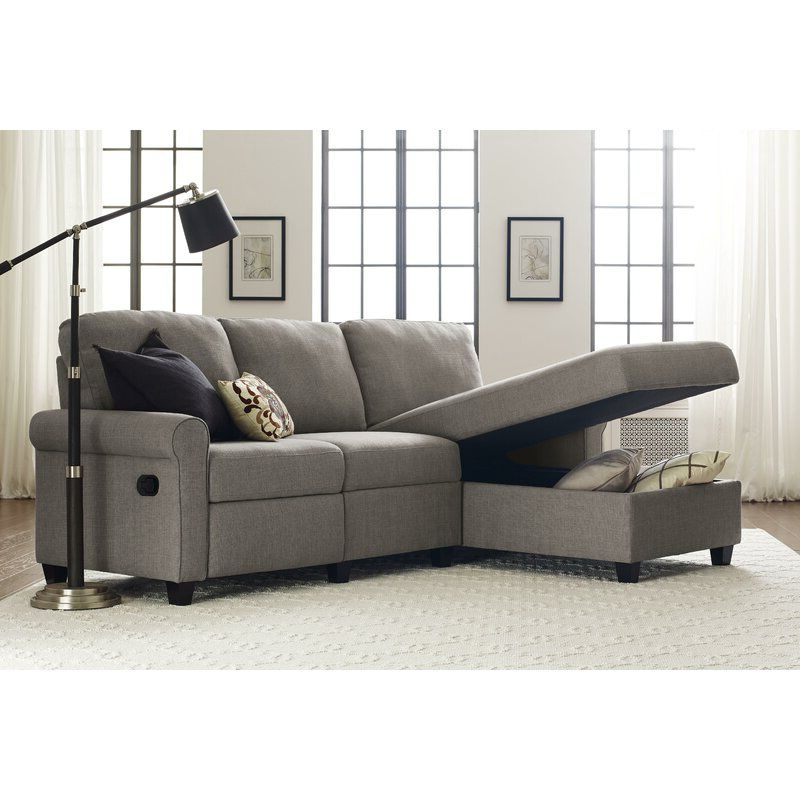 Reclining Regarding Copenhagen Reclining Sectional Sofas With Left Storage Chaise (View 1 of 20)