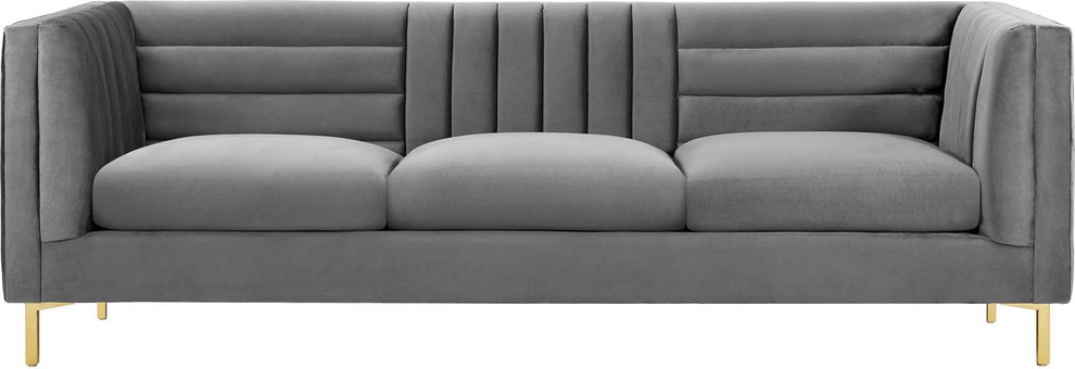 Riley Retro Mid Century Modern Fabric Upholstered Left Facing Chaise Sectional Sofas Within Favorite Nash Sofa – Contemporary – Sofas  Hedgeapple (View 12 of 20)
