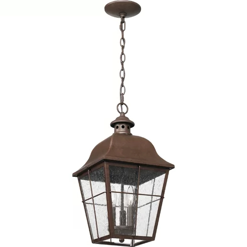 Featured Photo of Robertson 2   Bulb Seeded Glass Outdoor Wall Lanterns