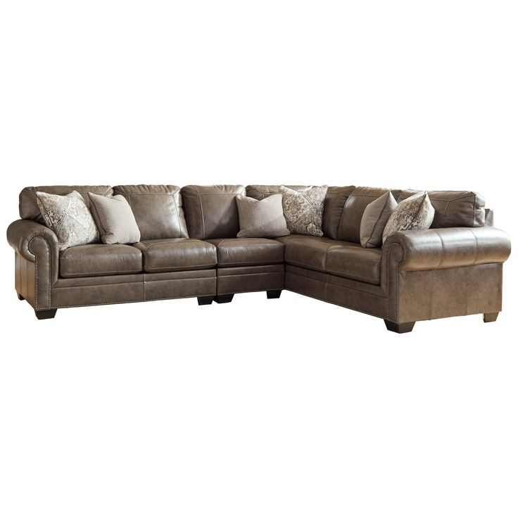 Roleson 3 Piece Sectionalsignature Designashley At Intended For Newest 3pc Miles Leather Sectional Sofas With Chaise (View 3 of 20)
