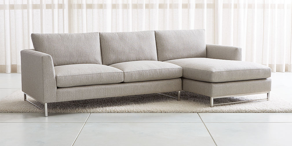 Sale: Sectional Sofas: Leather And Fabric (View 7 of 20)