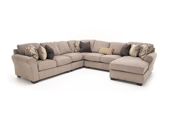 Sectional, Rustic Living Room (View 4 of 20)