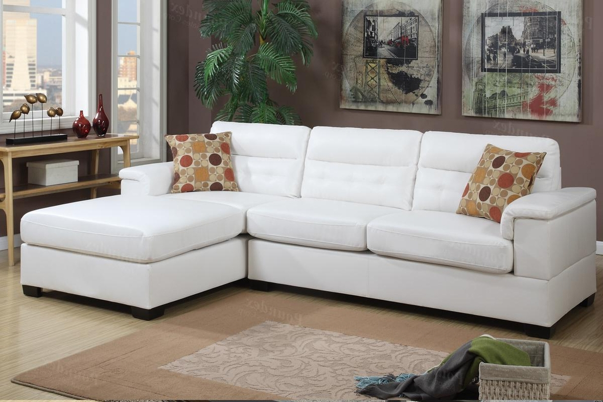 Sectional Sofas In White Throughout Latest White Leather Sectional Sofa – Steal A Sofa Furniture (View 2 of 20)
