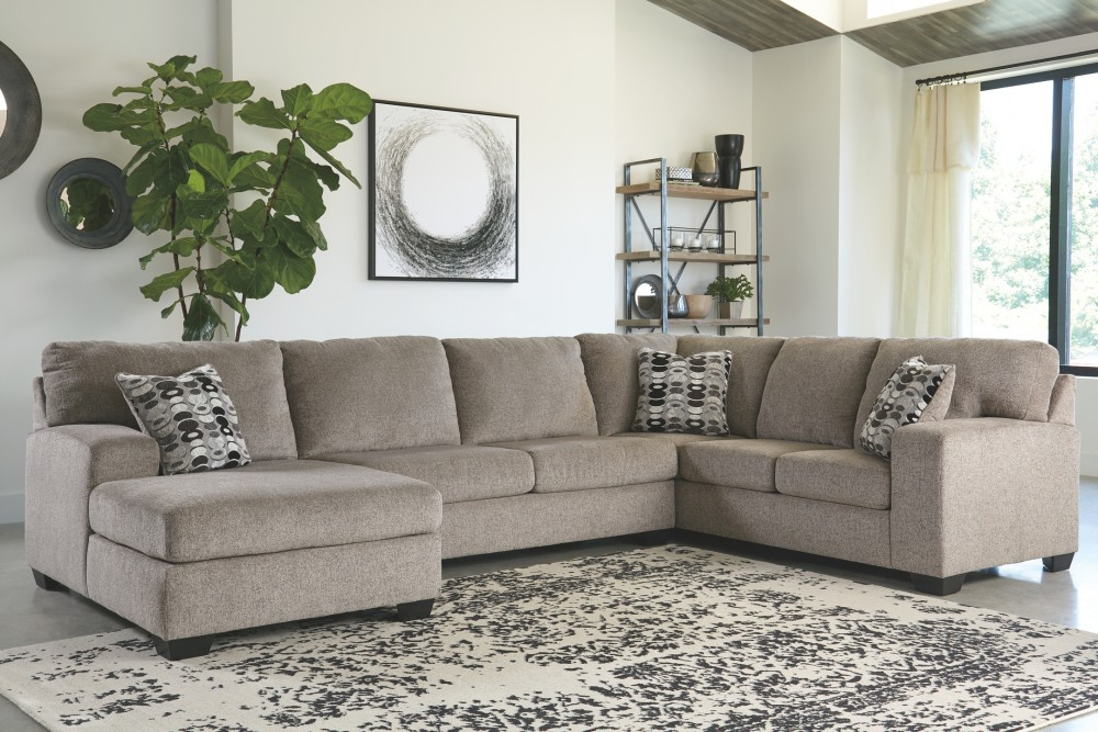 Sectionals Inside Well Known 3pc Polyfiber Sectional Sofas (View 9 of 20)