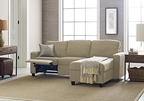 Serta 308701287l Palisades Reclining Storage Chaise, Left With Regard To Recent Copenhagen Reclining Sectional Sofas With Left Storage Chaise (View 17 of 20)