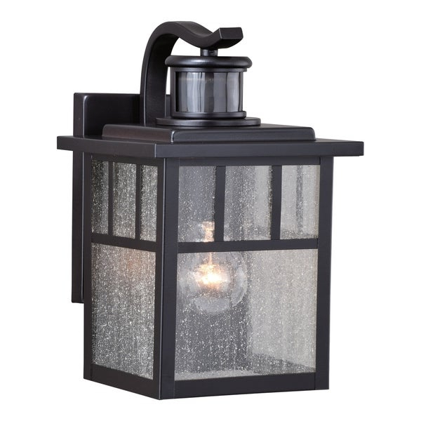 Shop Mission Bronze Motion Sensor Dusk To Dawn Outdoor Within Well Known Ranbir Oil Burnished Bronze Outdoor Wall Lanterns With Dusk To Dawn (View 12 of 20)