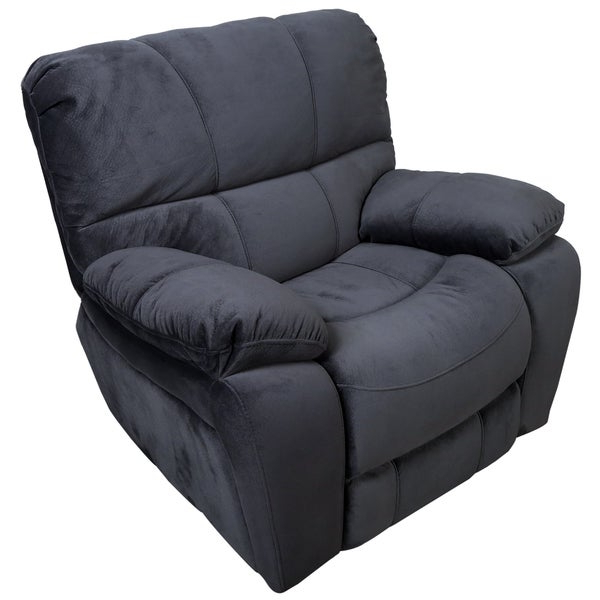 Shop Porter Ramsey Slate Grey Microfiber Gliding Recliner Within Most Recent Colby Manual Reclining Sofas (View 10 of 20)