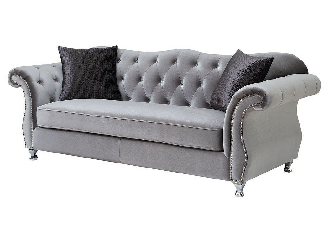 Silver Sofa, Traditional (View 10 of 20)