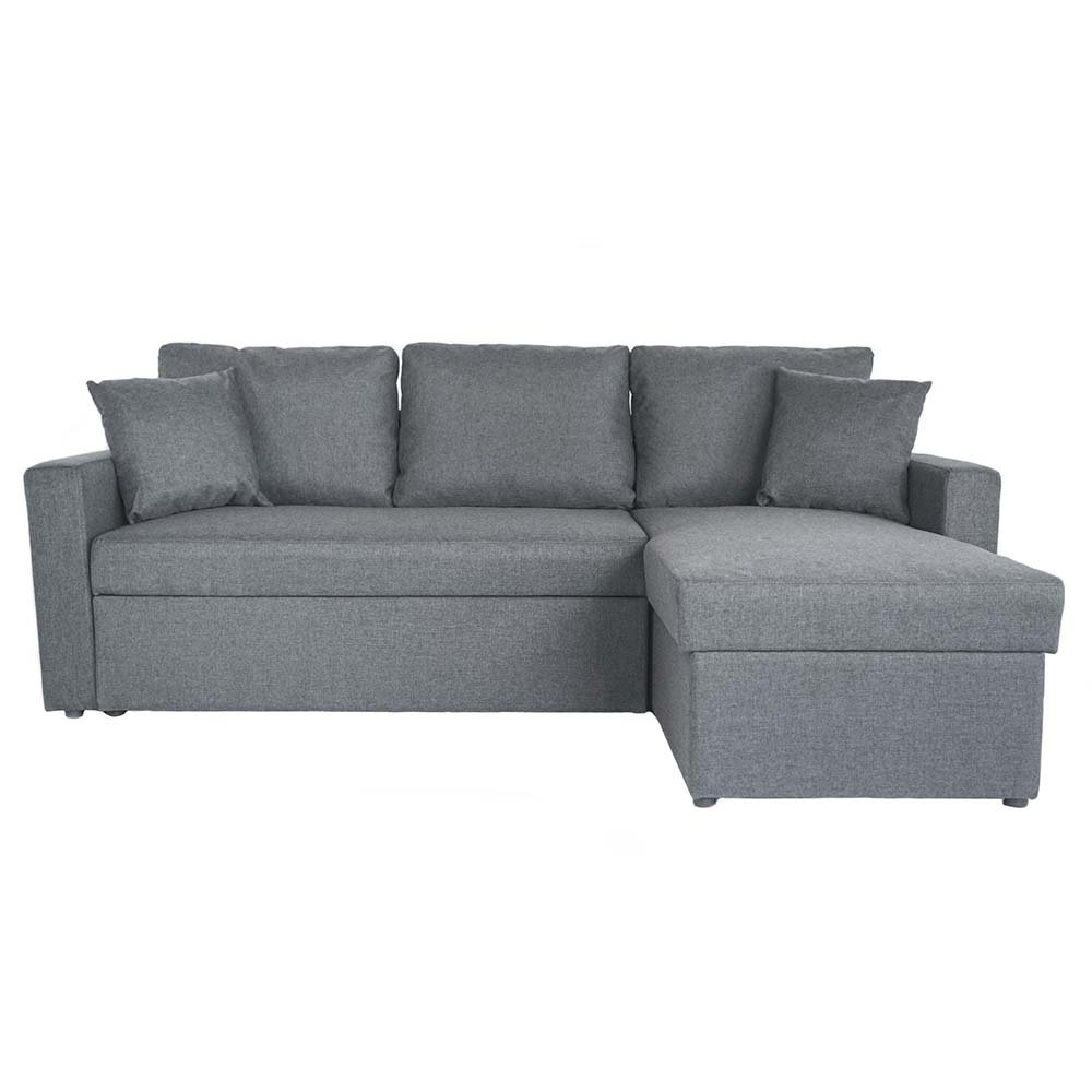Small Sectional Sleeper Sofa With Pull Out Ottoman Within Famous Hartford Storage Sectional Futon Sofas (View 14 of 20)