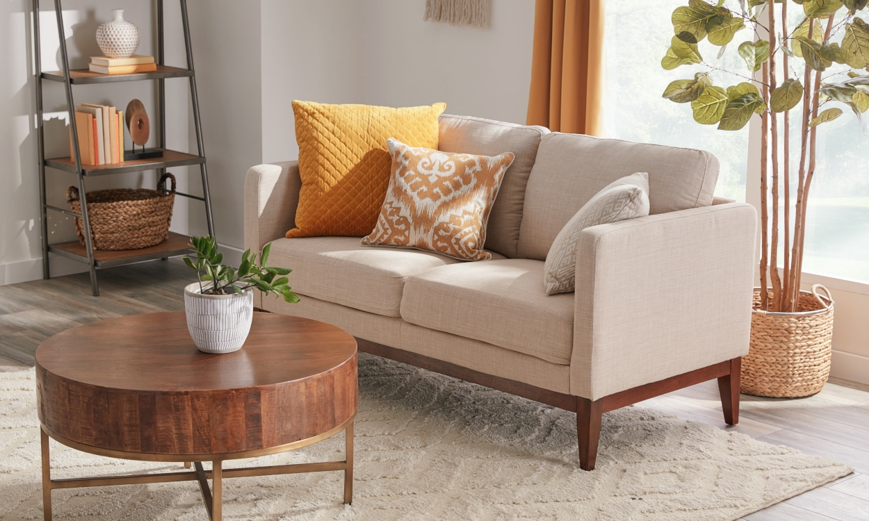 Small Sectional Sofas & Couches For Small Spaces Regarding Latest Easton Small Space Sectional Futon Sofas (View 9 of 20)