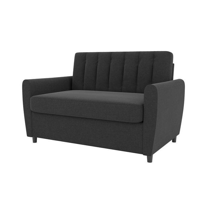 Sofa Bed Memory Foam, Sectional Throughout 2018 Brittany Sectional Futon Sofas (View 7 of 20)