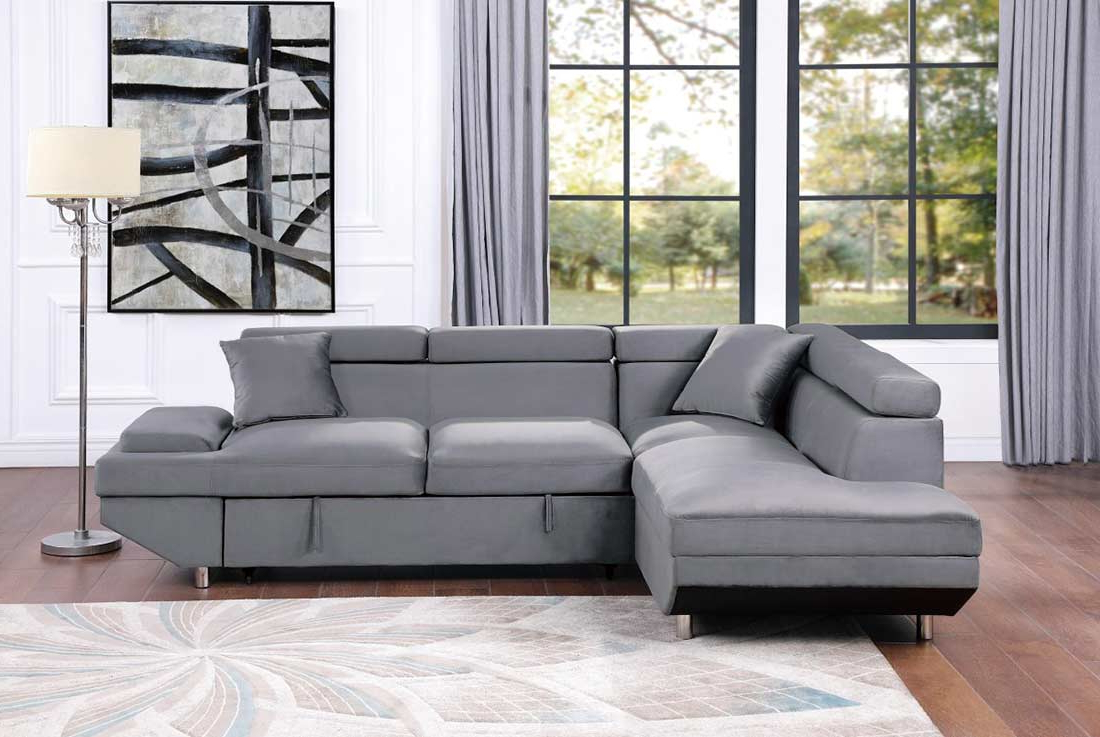 Sofa Beds Pertaining To 2018 Sectional Sofas In Gray (View 10 of 20)
