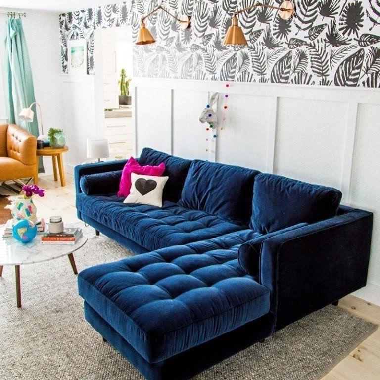 Sofa Colors Intended For Latest Florence Mid Century Modern Velvet Left Sectional Sofas (View 10 of 20)