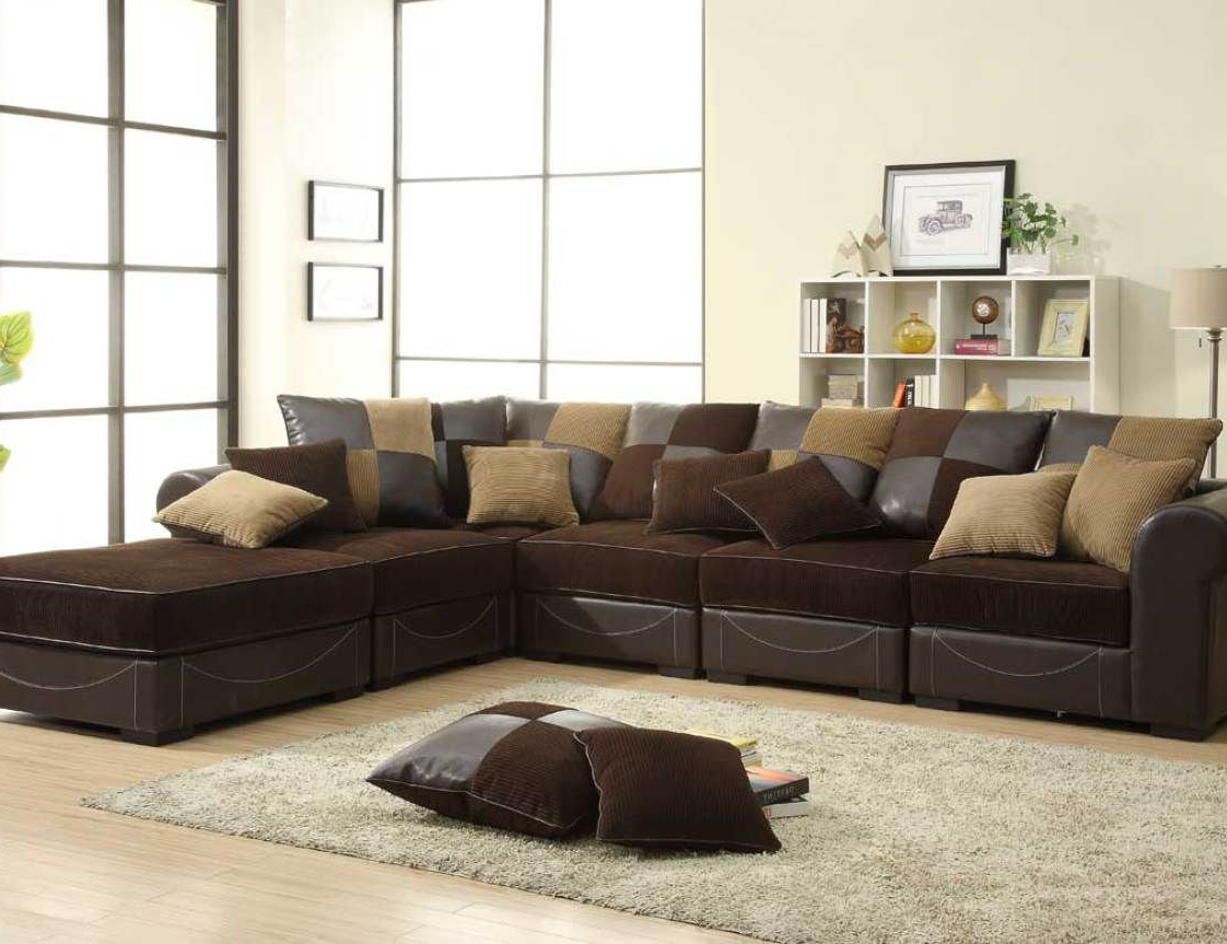 Sofas For Small Spaces, Brown (View 3 of 20)