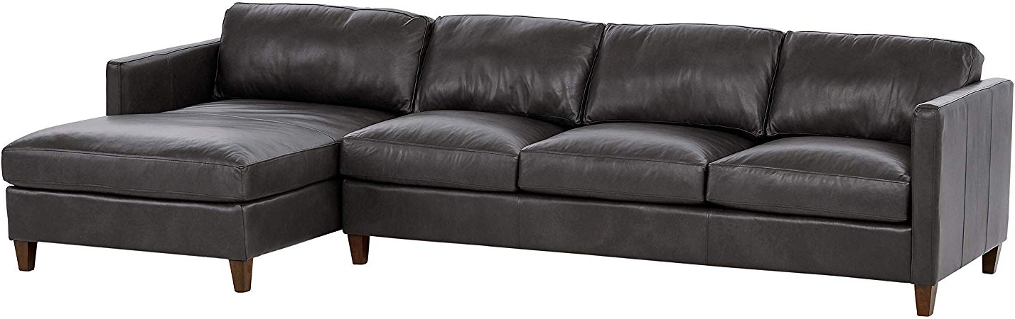 """Stone Beam Andover Right Facing Sofa Chaise Sectional, """"w Inside Well Liked Dulce Right Sectional Sofas Twill Stone (View 6 of 20)"""