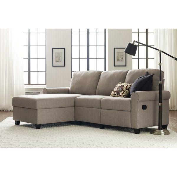 Storage In Copenhagen Reclining Sectional Sofas With Left Storage Chaise (View 4 of 20)