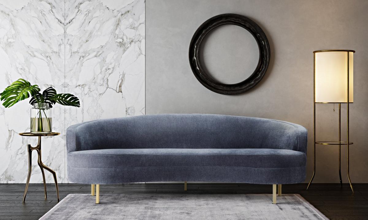 Strummer Velvet Sectional Sofas With Recent Wiltshire Grey Velvet Sofa – Fabric Sofas – Sofas (View 10 of 20)