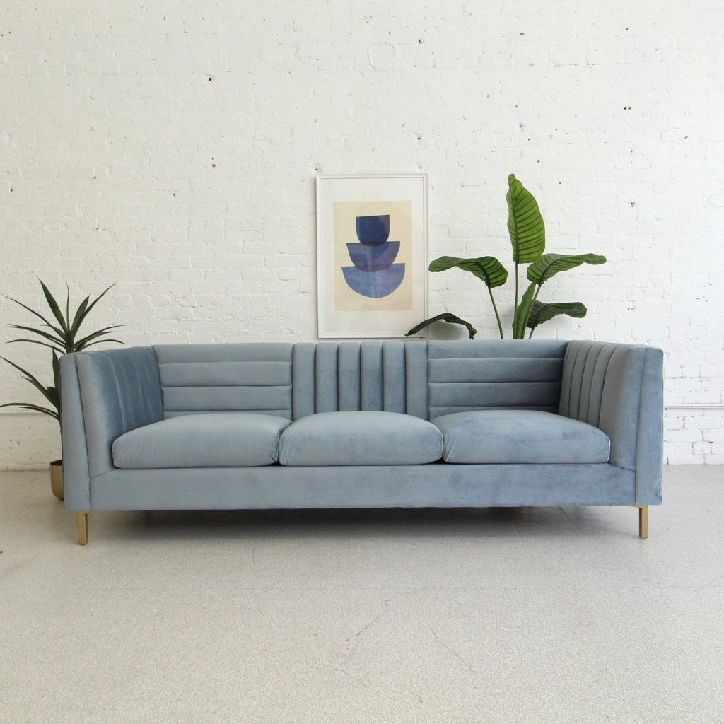 Sunbeam Vintage In 2021 In Most Popular Brayson Chaise Sectional Sofas Dusty Blue (View 6 of 20)