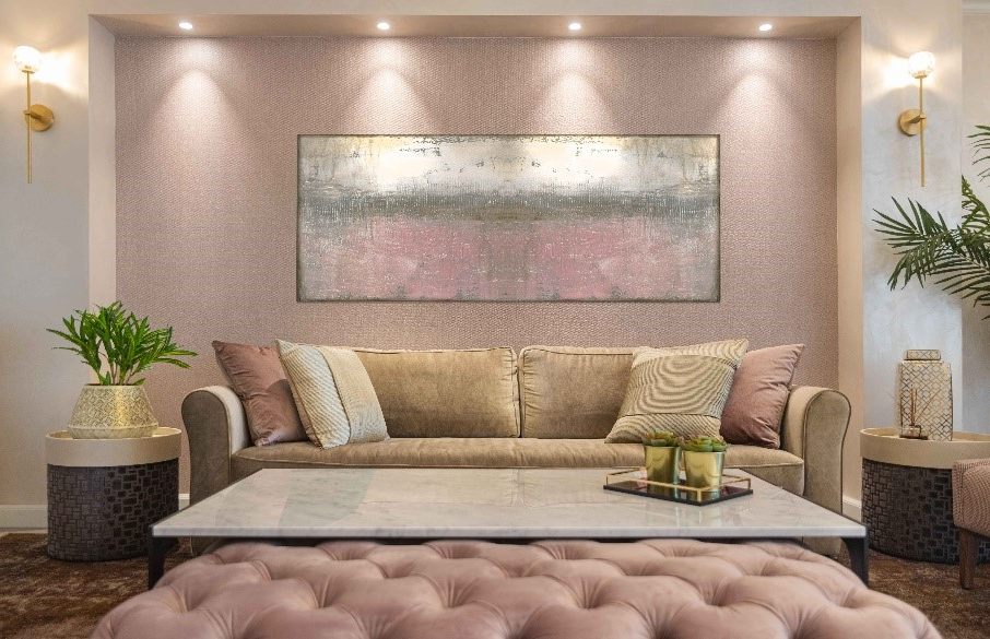 Symmetry Fabric Power Reclining Sofas For Famous The Power Of Pillows – Annette Frommer (View 17 of 20)