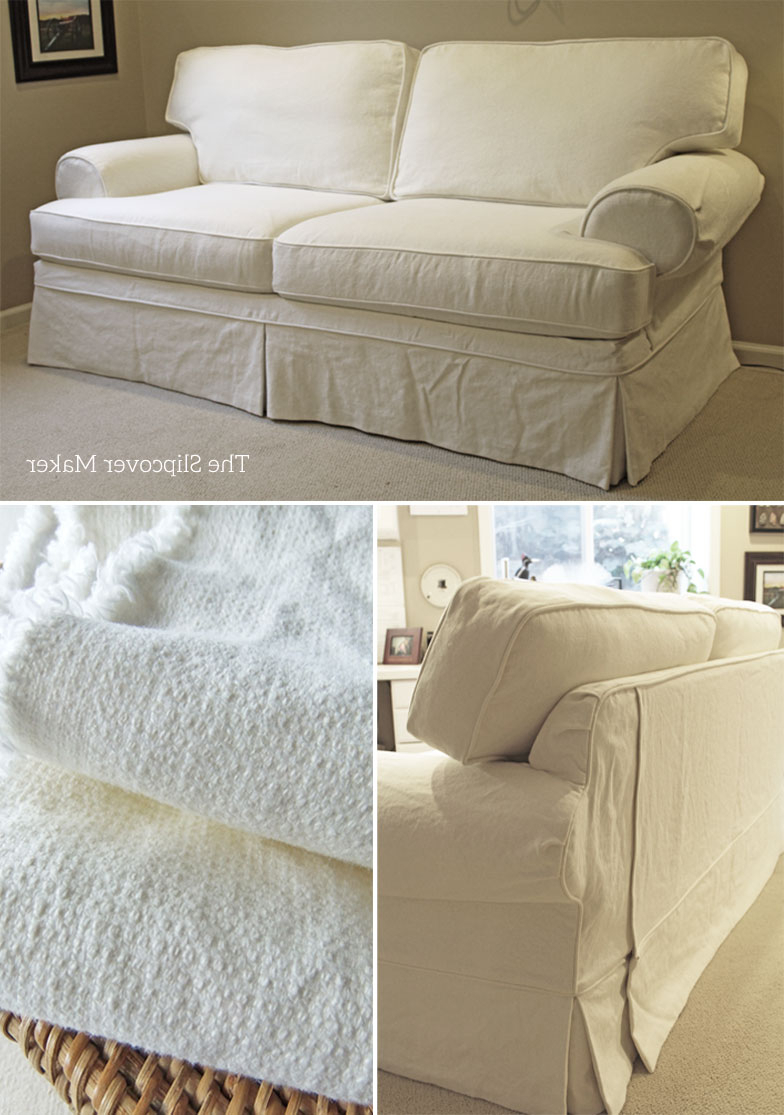 The Throughout Current Camila Poly Blend Sectional Sofas Off White (View 14 of 20)