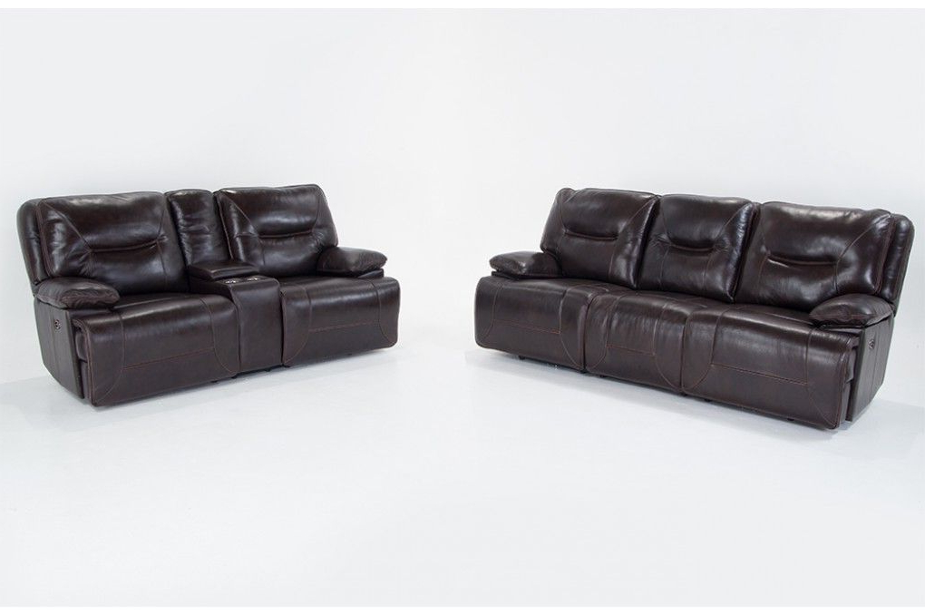 This Combination Will Make Any Living Room Extra Cozy And Intended For Well Liked Marco Leather Power Reclining Sofas (View 15 of 20)