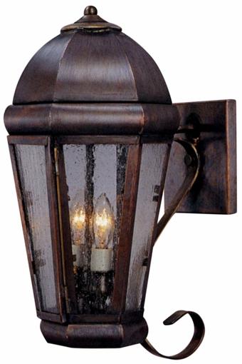 Tilley Olde Bronze Water Glass Outdoor Wall Lanterns Regarding Popular Capital Copper Lantern Outdoor Wall Light Spanish Colonial (View 14 of 20)