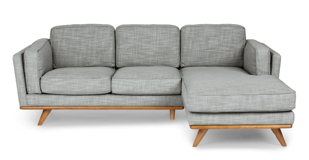 Timber Pebble Gray Left Sectional (View 15 of 20)