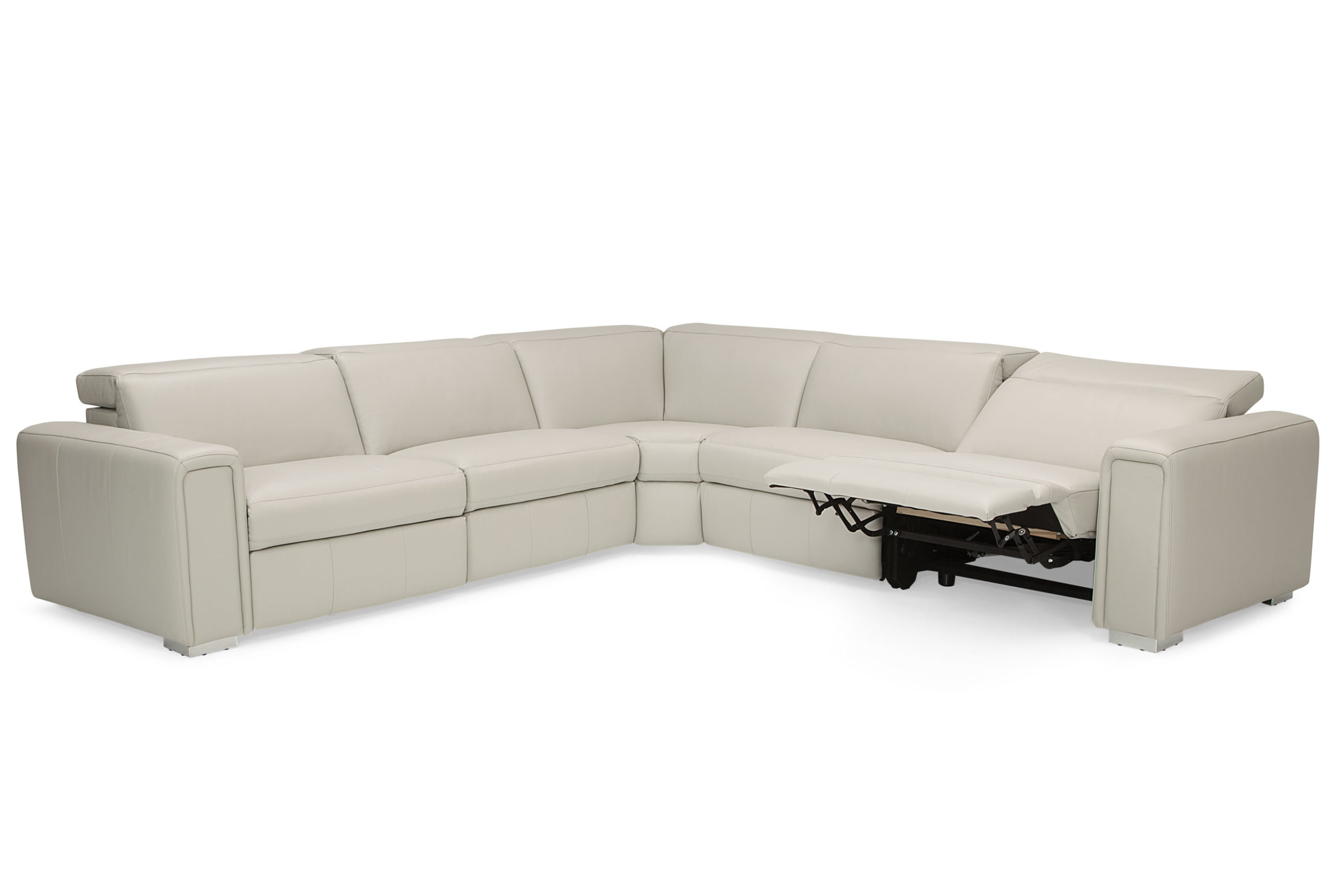 Titan Leather Power Reclining Sofas In Most Popular Palliser Titan 44004 Reclining Sectional With Power (View 3 of 20)
