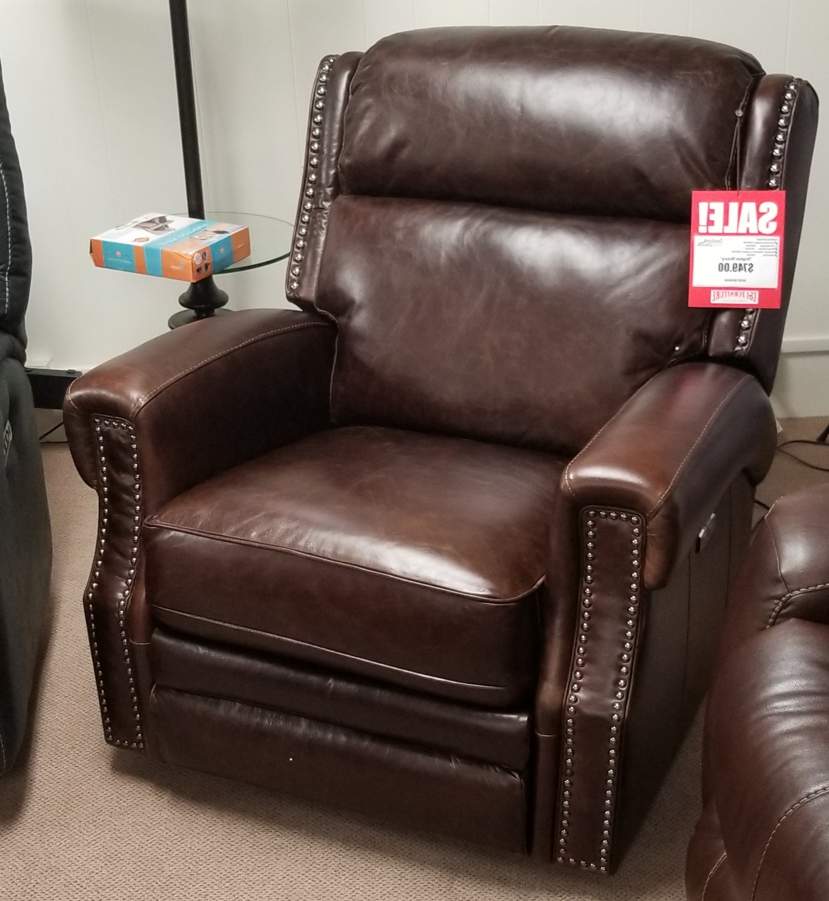 Titan Leather Power Reclining Sofas In Popular Recliners (View 16 of 20)