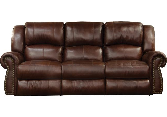 Titan Leather Power Reclining Sofas In Trendy Catnapper Messina Power Headrest Lay Flat Reclining Sofa (View 12 of 20)
