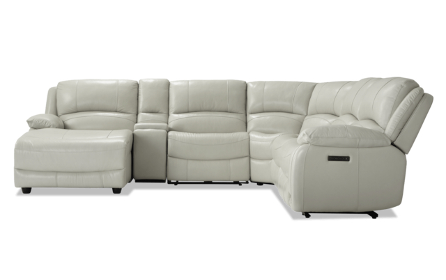 Titan Leather Power Reclining Sofas Pertaining To Well Liked Customizable Power Reclining Sectional Sofa (View 4 of 20)