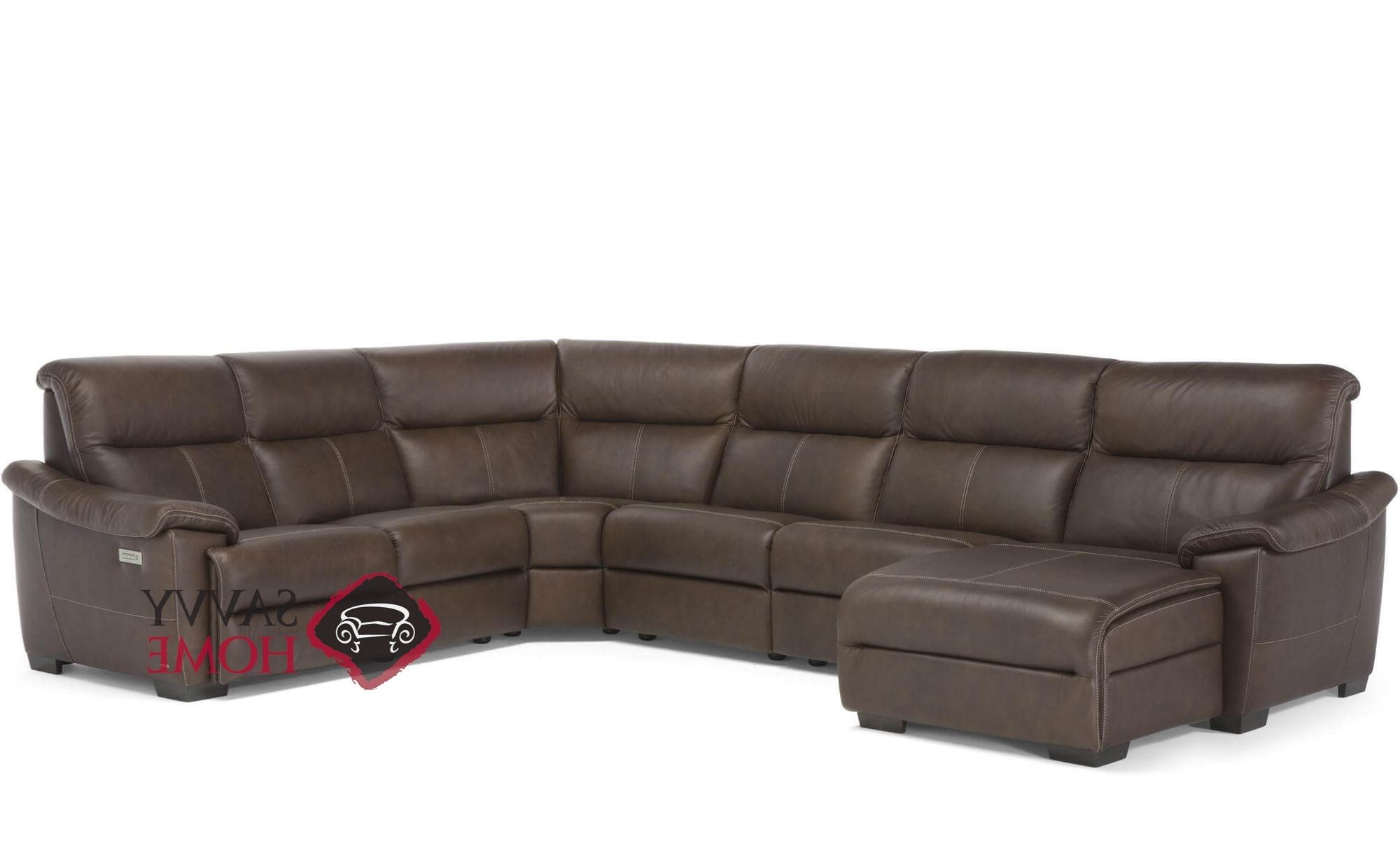 Titan Leather Power Reclining Sofas Throughout Most Popular Customizable Power Reclining Sectional Sofa (View 6 of 20)