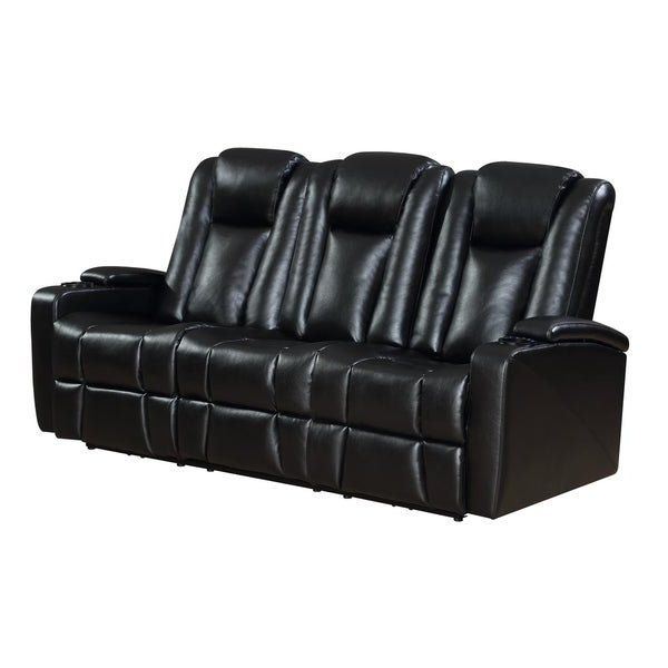 Titan Leather Power Reclining Sofas With Regard To Most Recently Released Shop Transformer Power Reclining Sofa With Usb And Drop (View 19 of 20)