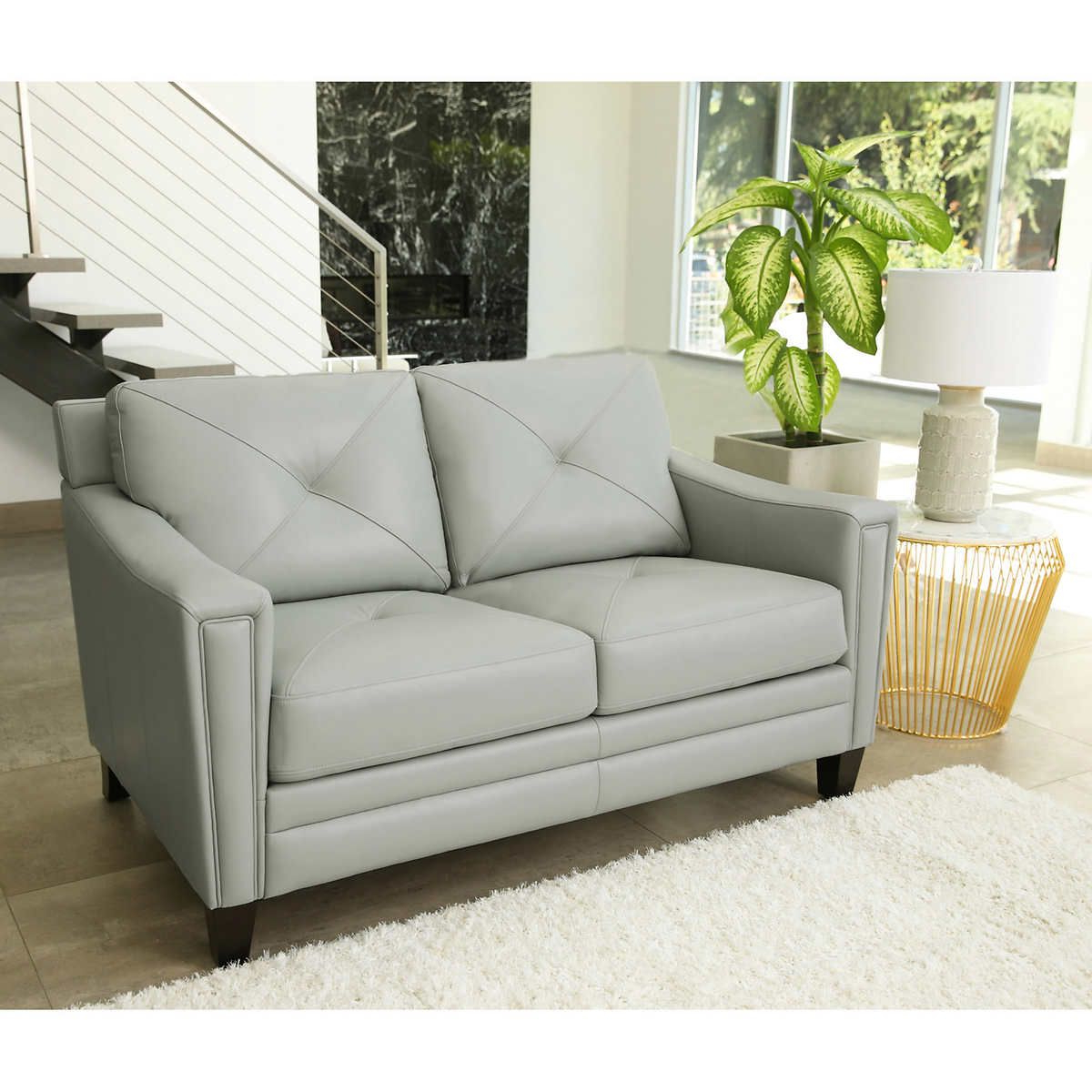 Top Grain Leather Sofa (View 12 of 20)