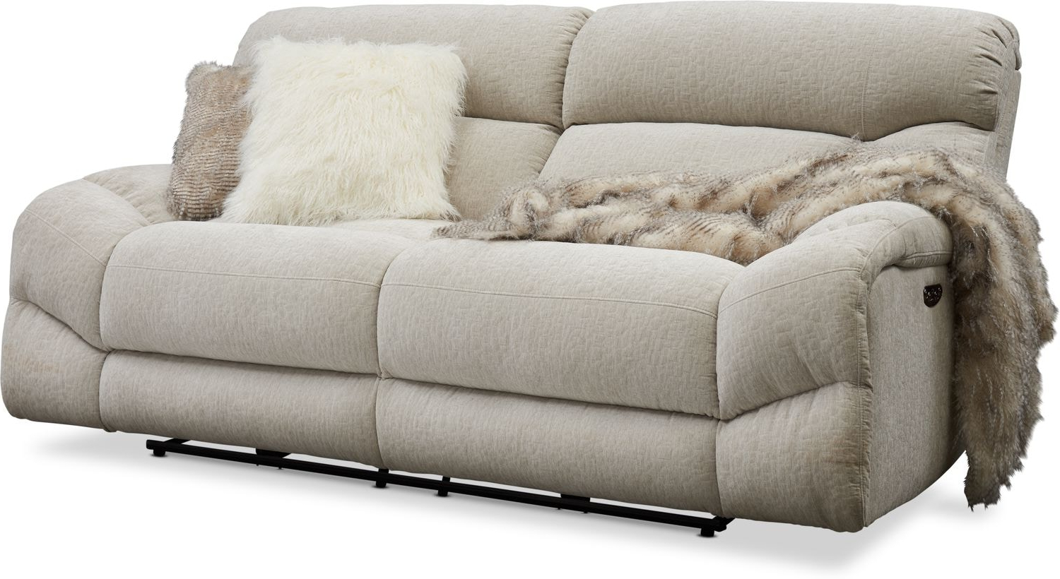 Trailblazer Gray Leather Power Reclining Sofas In Well Liked Sofa Power Recliner – Latest Sofa Pictures (View 8 of 20)